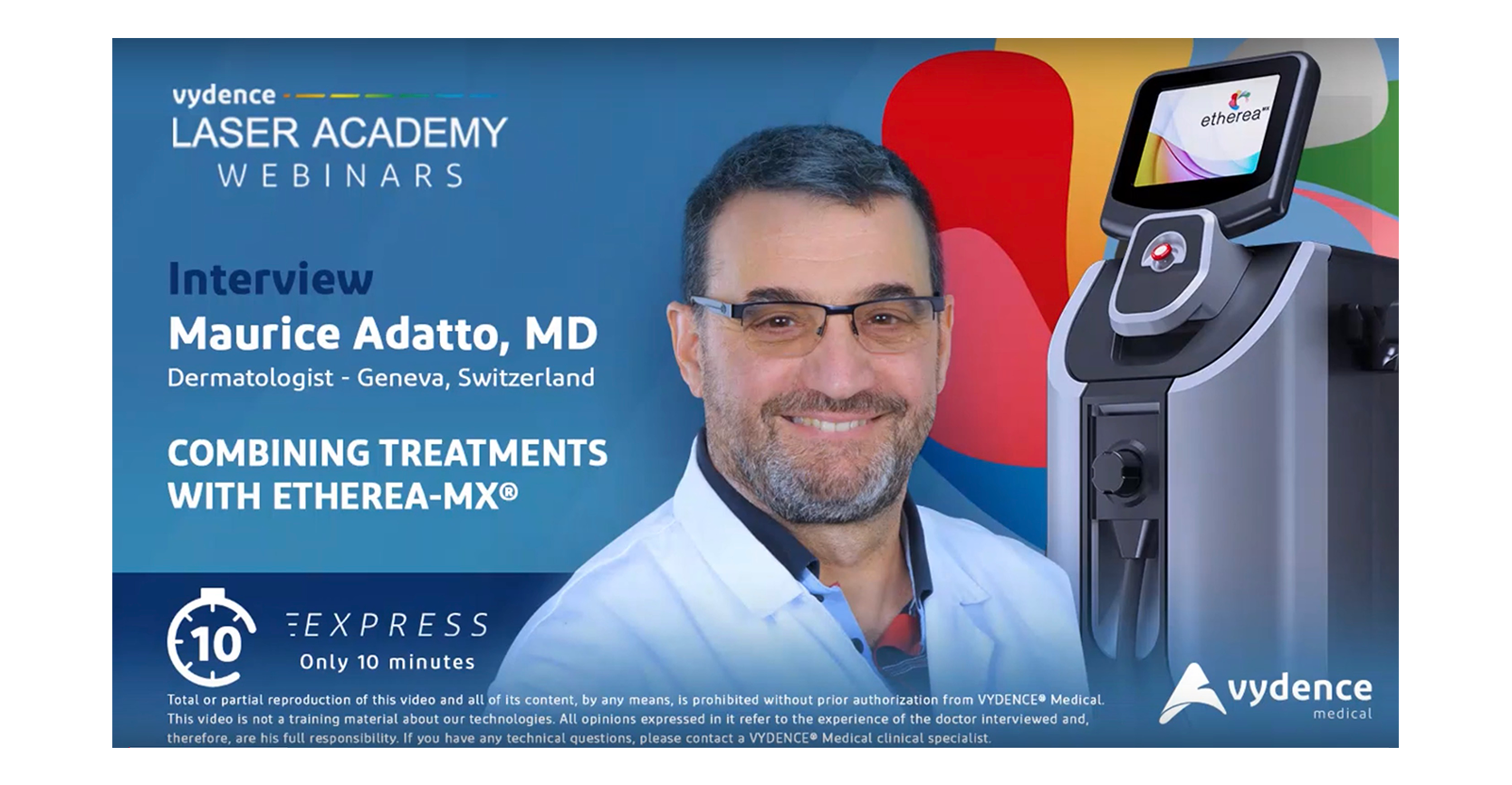 Interview with Maurice Adatto, MD
